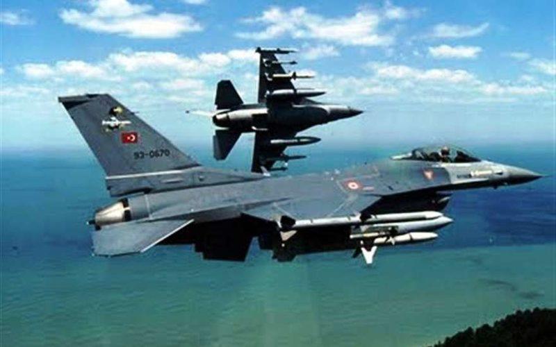 Турция подняла истребители F-16 для перехвата самолетов ВВС России