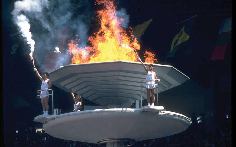 Олимпийский огонь прибыл на Международную космическую станцию