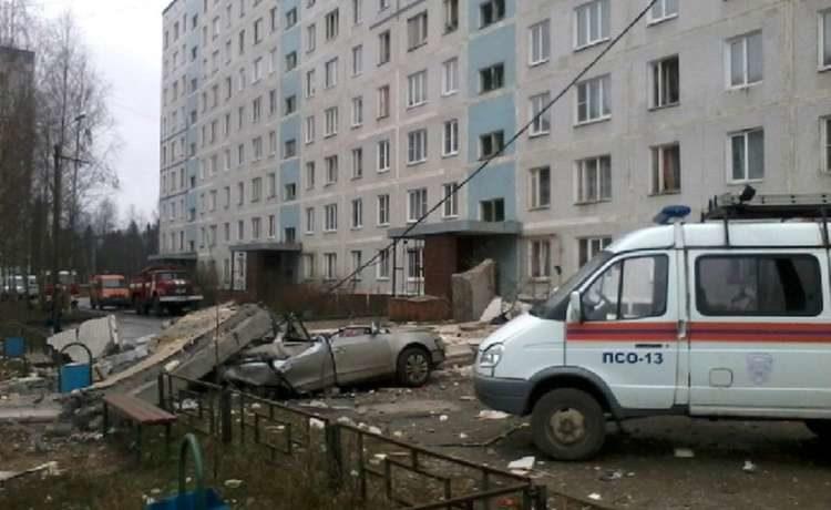 Пострадавший от взрыва газа жилой дом в Подмосковье сносить не будут