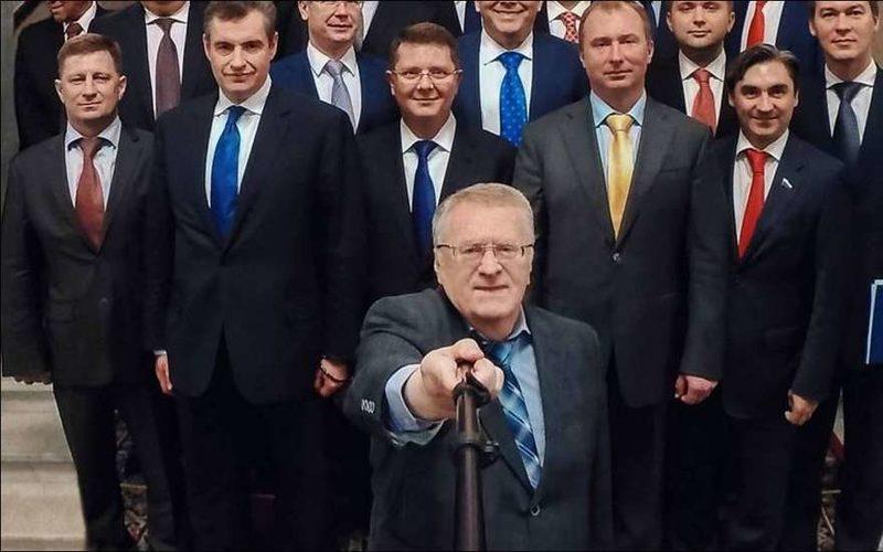 Лидер ЛДПР обратился к Хилари Клинотон