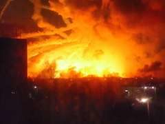 На Украине жителей Балаклеи эвакуируют из-за взрывов на складе боеприпасов