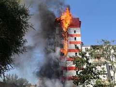 Пожар в гостинице Ростова-на-Дону: есть погибшие, фото, видео