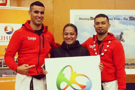 спортсмены сборной Тонга