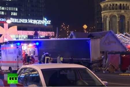 Полиция Берлина подтвердила: наезд грузовика был терактом