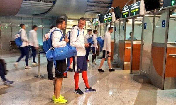Сборная России после матча со сборной Венгрии 5 июня 2017