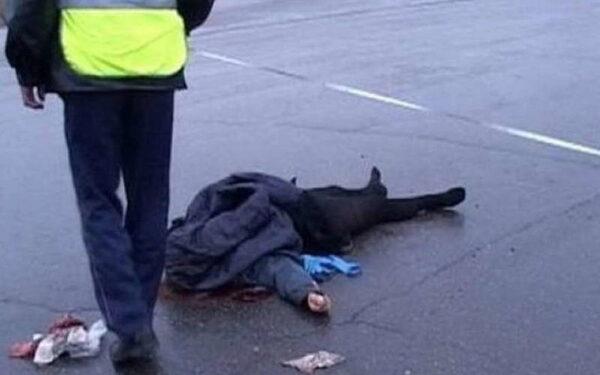 В Москве смертельное ДТП: байкер насмерть сбил пешехода и погиб сам