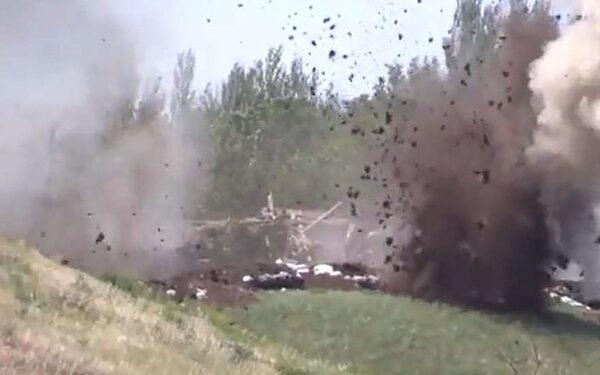 Обстрелы в Донбассе