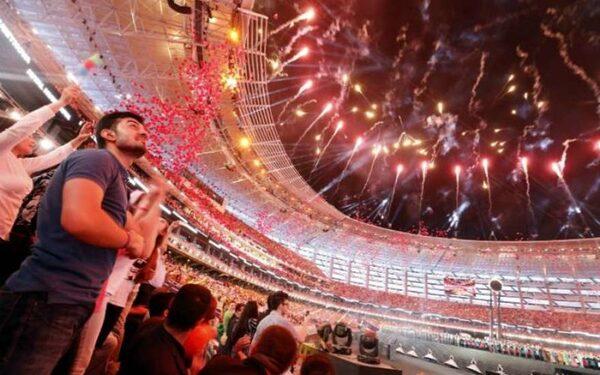 Завершилась церемония открытия Европейских игр в Баку 2015