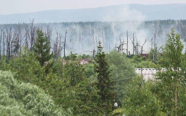 В Башкирии горят военные склады