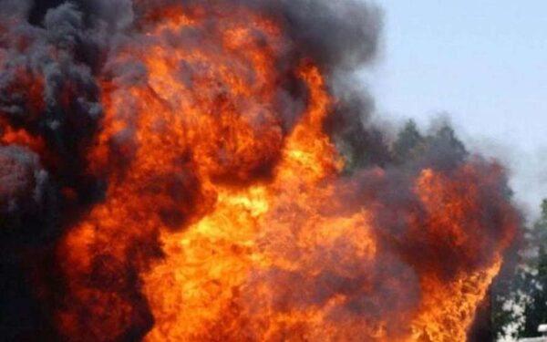 в харькове в районе Балашовка прогремел взрыв