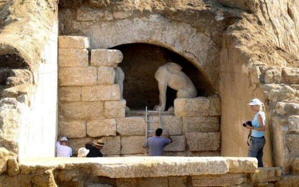 В Амфиполе обнаружены «древние сооружения»