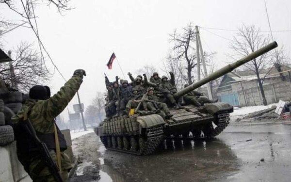 Народное ополчение, новости сегодня, Дебальцево, штурм Углегорска, ситуация в Горловке, карта боевых действий