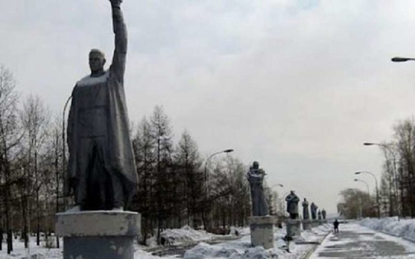 Красноярск Аллея славы