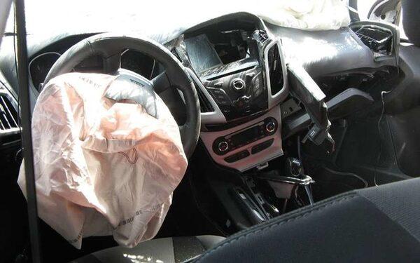 Машина в ДТП