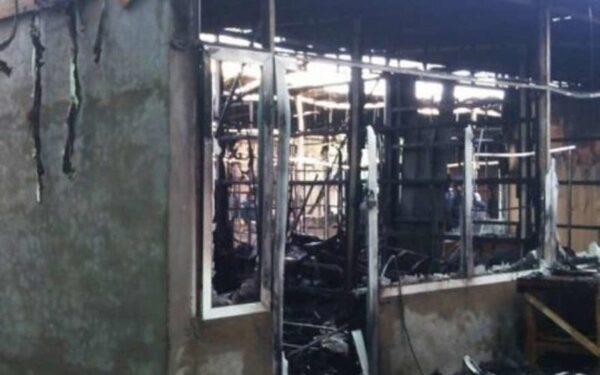 пожар в Дербенте