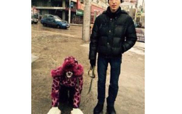 девушка-собака
