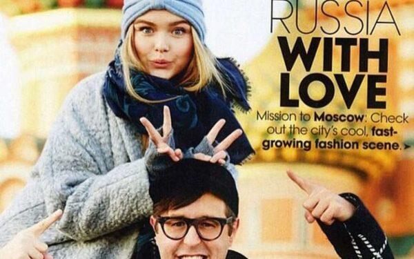 Дочка Дмитрия Маликова стала лицом модного журнала Vogue