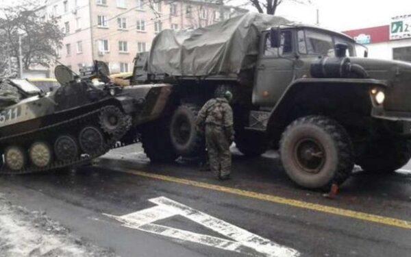 новости Украины, Донецк, ДТП, авария, ополчение ДНР