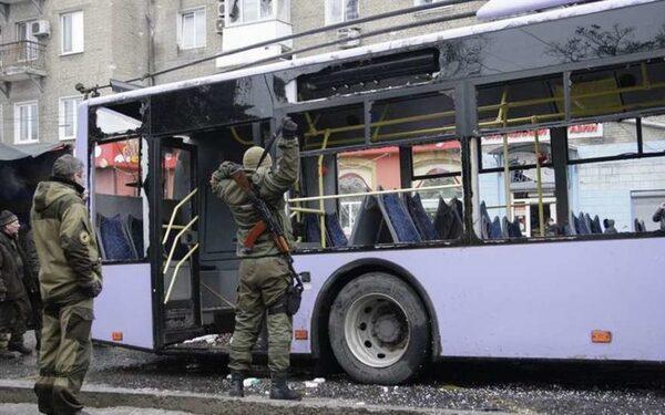 СБ ООН осудил обстрел остановки в Донецке, унесший жизни 15 человек