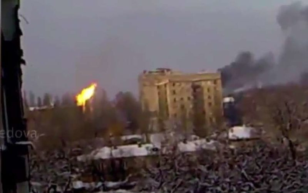 Артиллерийский обстрел возобновился в Донецке