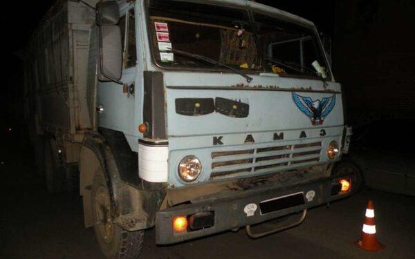 Водитель КамАЗа задавил женщину в Оренбурге