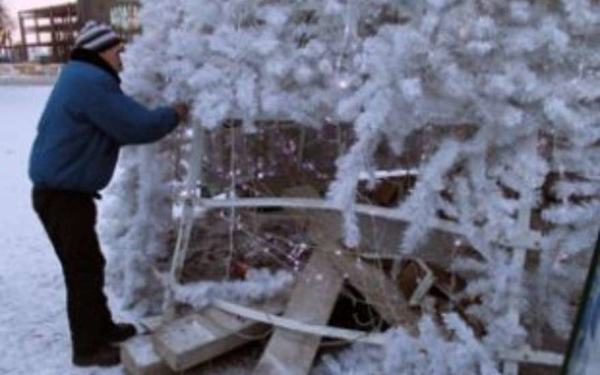 главная елка Коврова