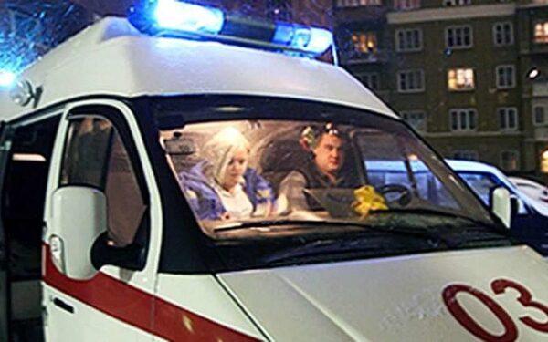 В Кемерово произошло ДТП с участием автомобиля скорой