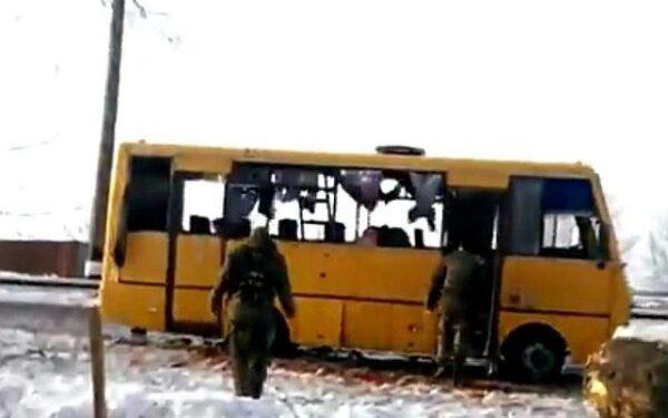 Власти ДНР: причина трагедии под Волновахой - мина направленного действия