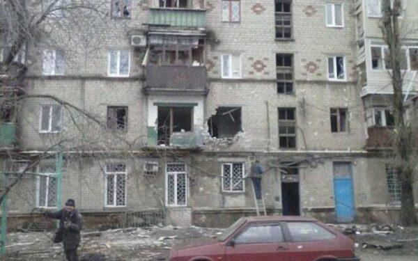 Разрушения в Горловке на данный момент 23 января