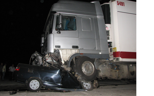В ДТП на трассе Новосибирск-Челябинск погиб мужчина и двухлетний ребенок