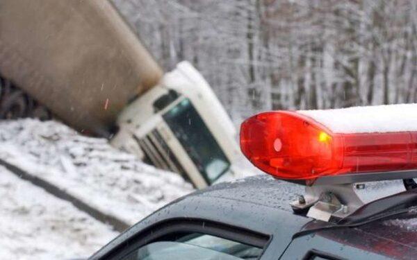 Под Тулой грузовик Вольво врезался в пассажирский автобус Higer, пострадали пять человек