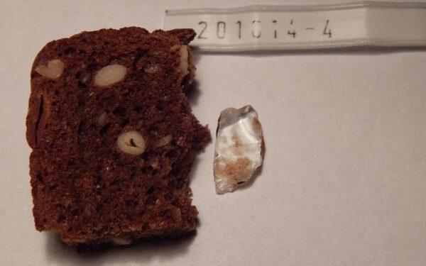 В Подмосковье в хлебе нашли кусок стекла ФОТО