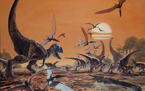 Динозавры после падения метеорита не сгорели - а замерзли