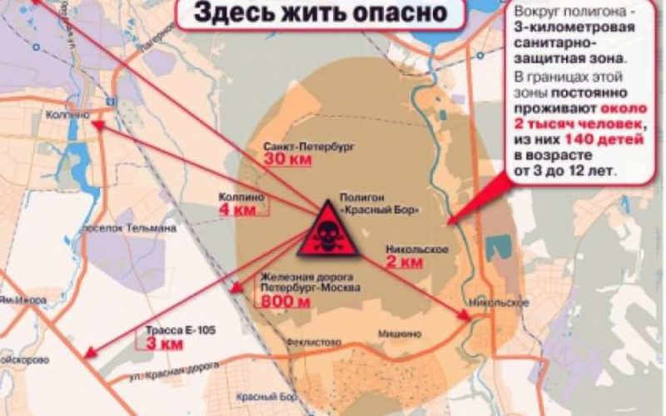 На полигоне Красный Бор зафиксирован сброс опасных отходов