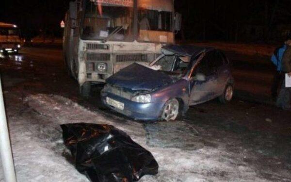 В Чистопольском районе в ДТП с легковушкой и автобусом погиб водитель