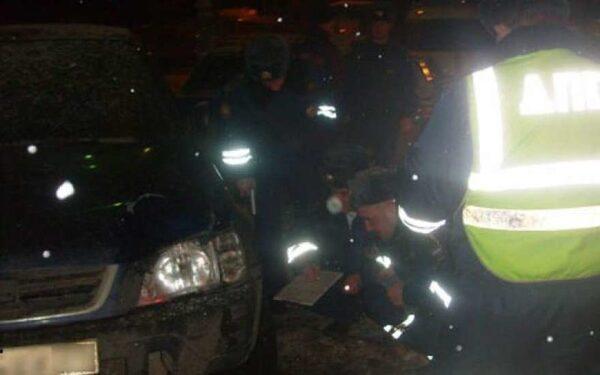 В Питере Лексус врезался в Ладу Калину, двое пострадавших