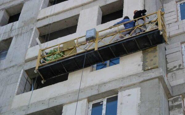 В Москве погибли строители из-за сорвавшейся строительной люльки