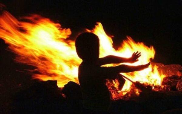 дети погибли в огне