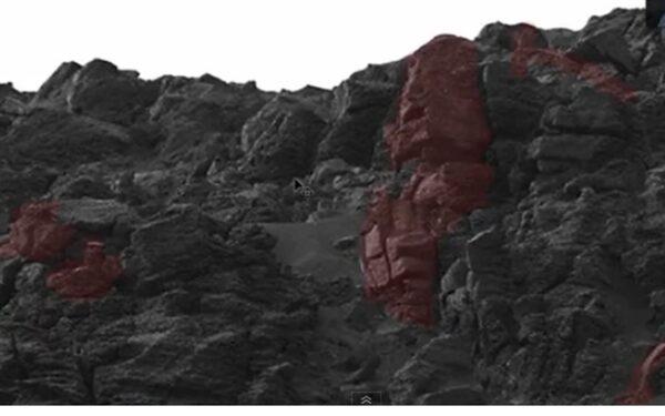 На Марсе обнаружены статуи