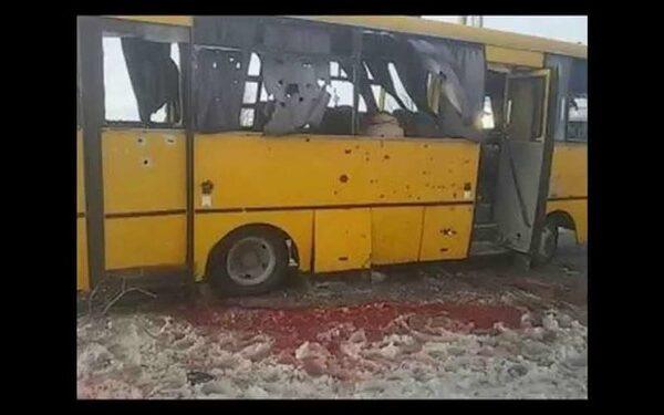 В ДНР возбуждено дело по обстрелу автобуса у Волновахи