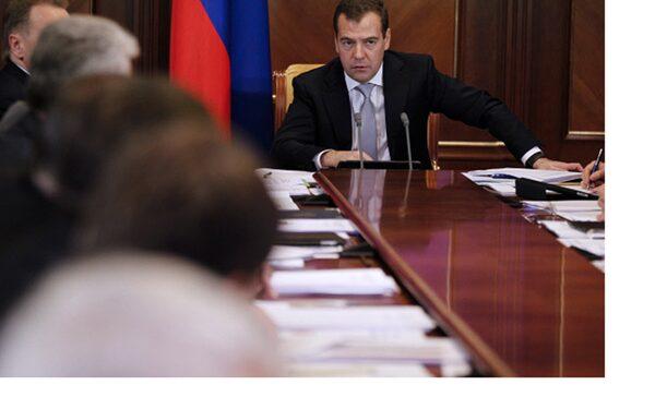 Медведев на совещании