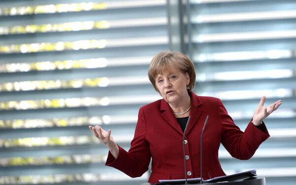 Меркель: нашей целью должно быть экономическое сотрудничество с РФ