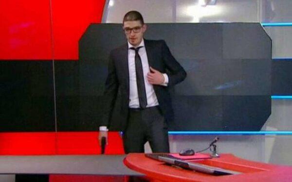 В Голландии на студию телеканала NOS напал мужчина с пистолетом