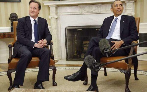 Кэмерон и Обама намерены продолжать давить на РФ с целью урегулирования кризиса на Украине