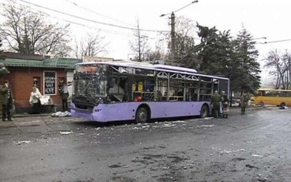 ОБСЕ: обстрел остановки в Донецке производился с северо-запада