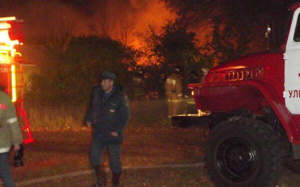 В Курганской области в пожаре сгорела заживо семья из трех человек