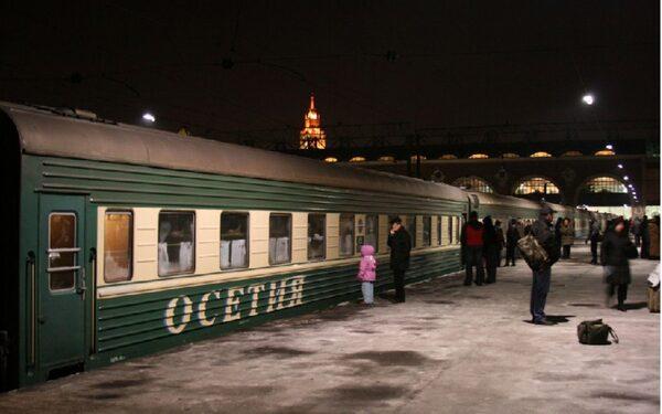 Житель Кубани сообщил о террористическом захвате поезда «Владикавказ-Москва»