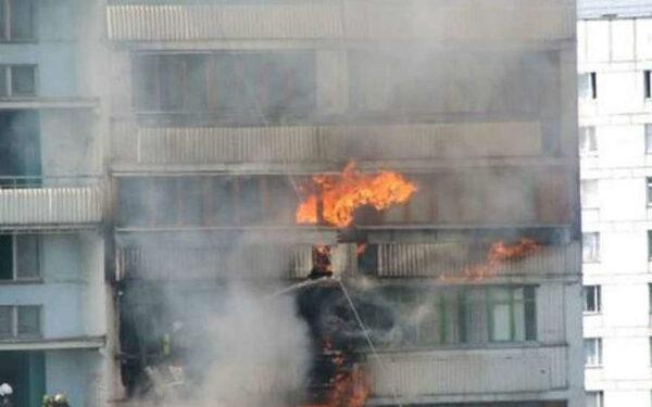 Пожар в многоэтажке в центре Волгограда: 1 человек погиб, 100 эвакуировано