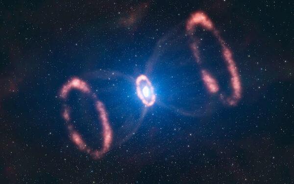 двойная звезда J1906 исчезла из поля зрения