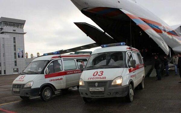 Пострадавшую на пожаре жительницу Чечни перевезут в Москву на самолете МЧС